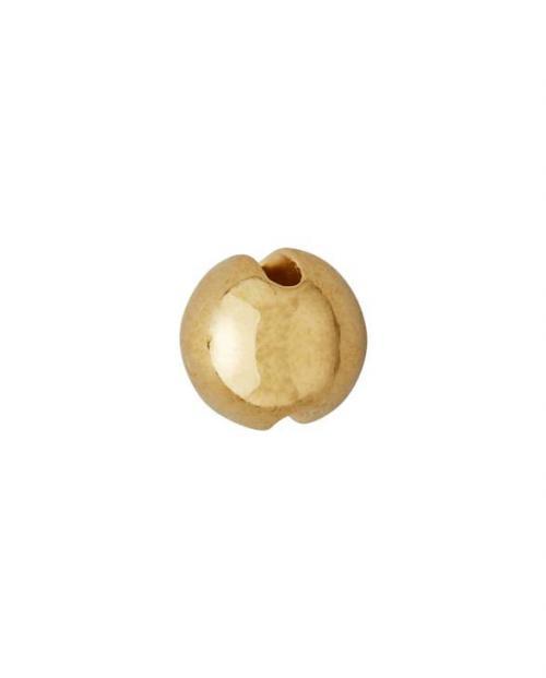 Design Letters Schmuck Kette Charm Ball gold