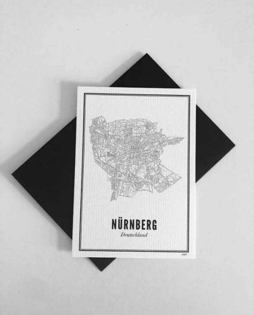 Wijck Postkarte Nuernberg