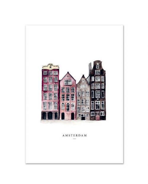 Leo la Douce Art Print Amsterdam