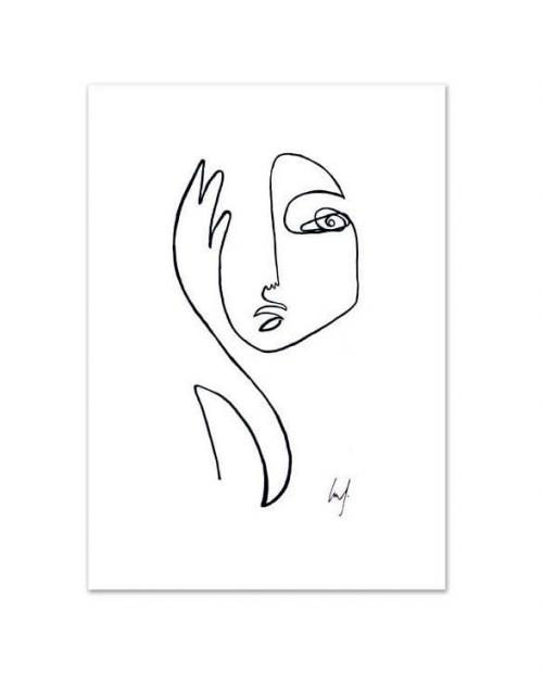 Leo la Douce Art Print Where a I sw