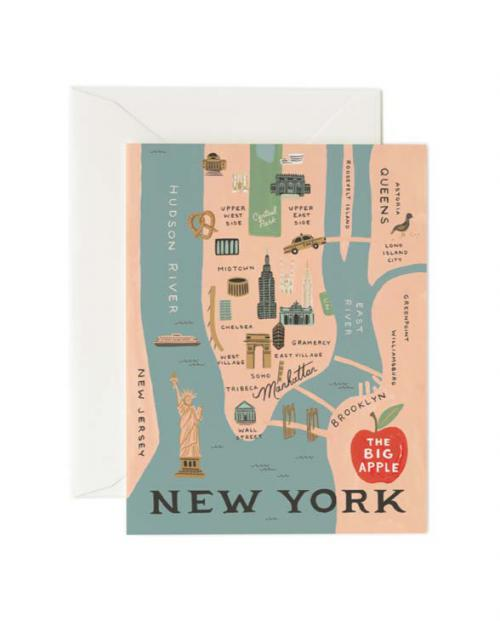 Rifle paper co Karte new york