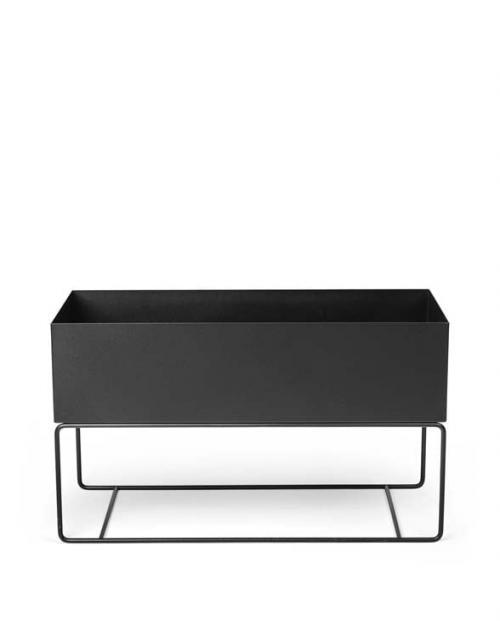 ferm Living plant box Large black 01