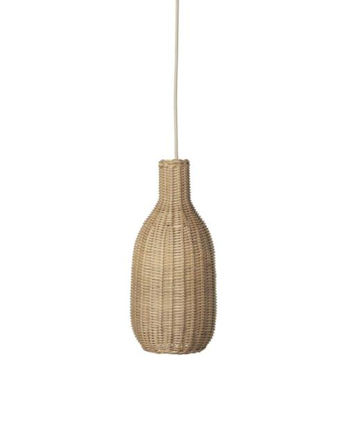 ferm Living Pendelleuchte Braided Bottle 005