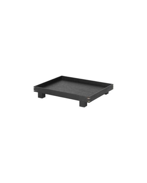 ferm Living wooden bon tray small black 01