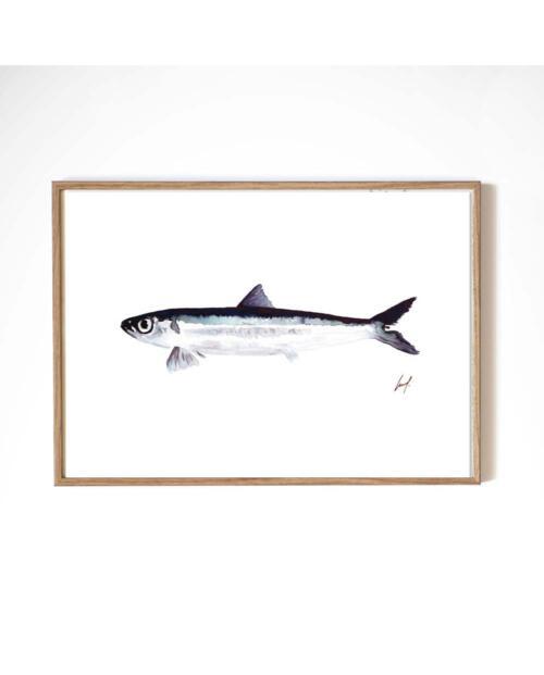 Leo La Douce Artprint fish