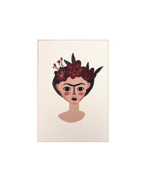 Yetti Friends Artprint frida