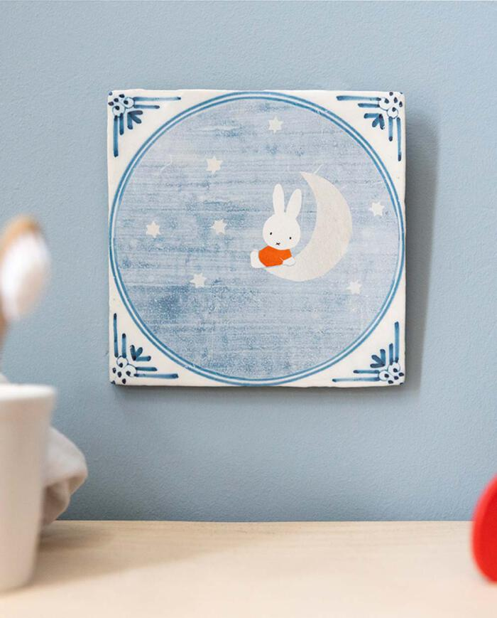 Storytiles Fliese Miffy on the moon 02