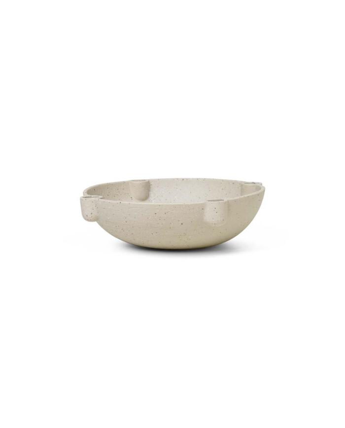 ferm Living Bowl candle holder caramic 1104263131 1