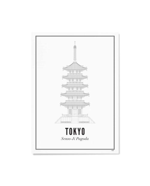wijck artprint tokyo senso ji pagoda
