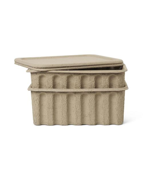 ferm Living Paper Pulp Box Large 006