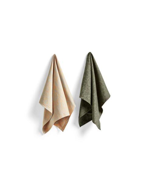 HAY 501943 Tea Towel SB Set of 2 NO 6 ballpoint scribble