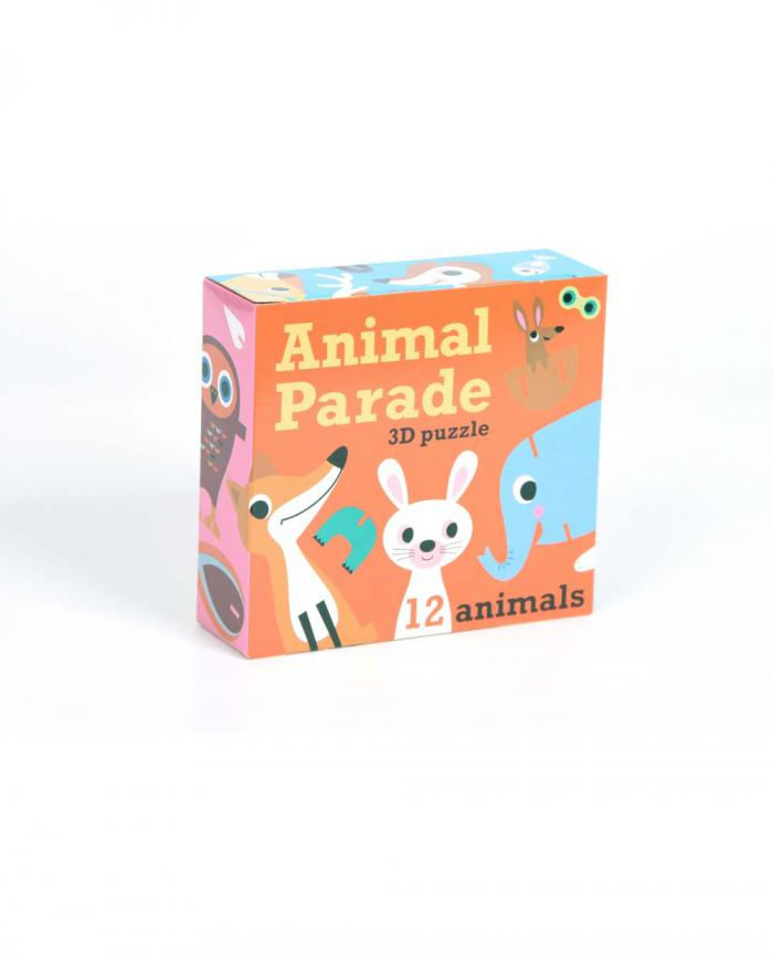 OMM design Puzzle Animal Parade 01