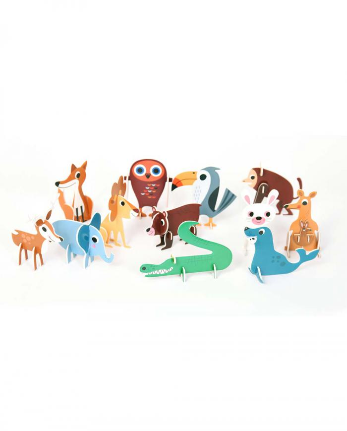 OMM design Puzzle Animal Parade 02