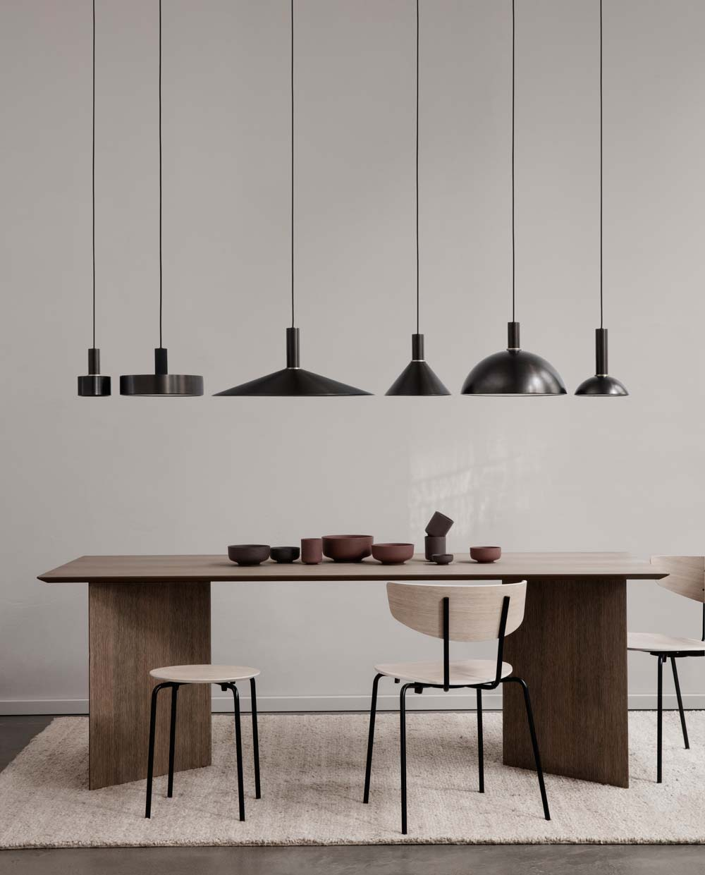 ferm Living collect lighting angle shade 100074 101 black 002