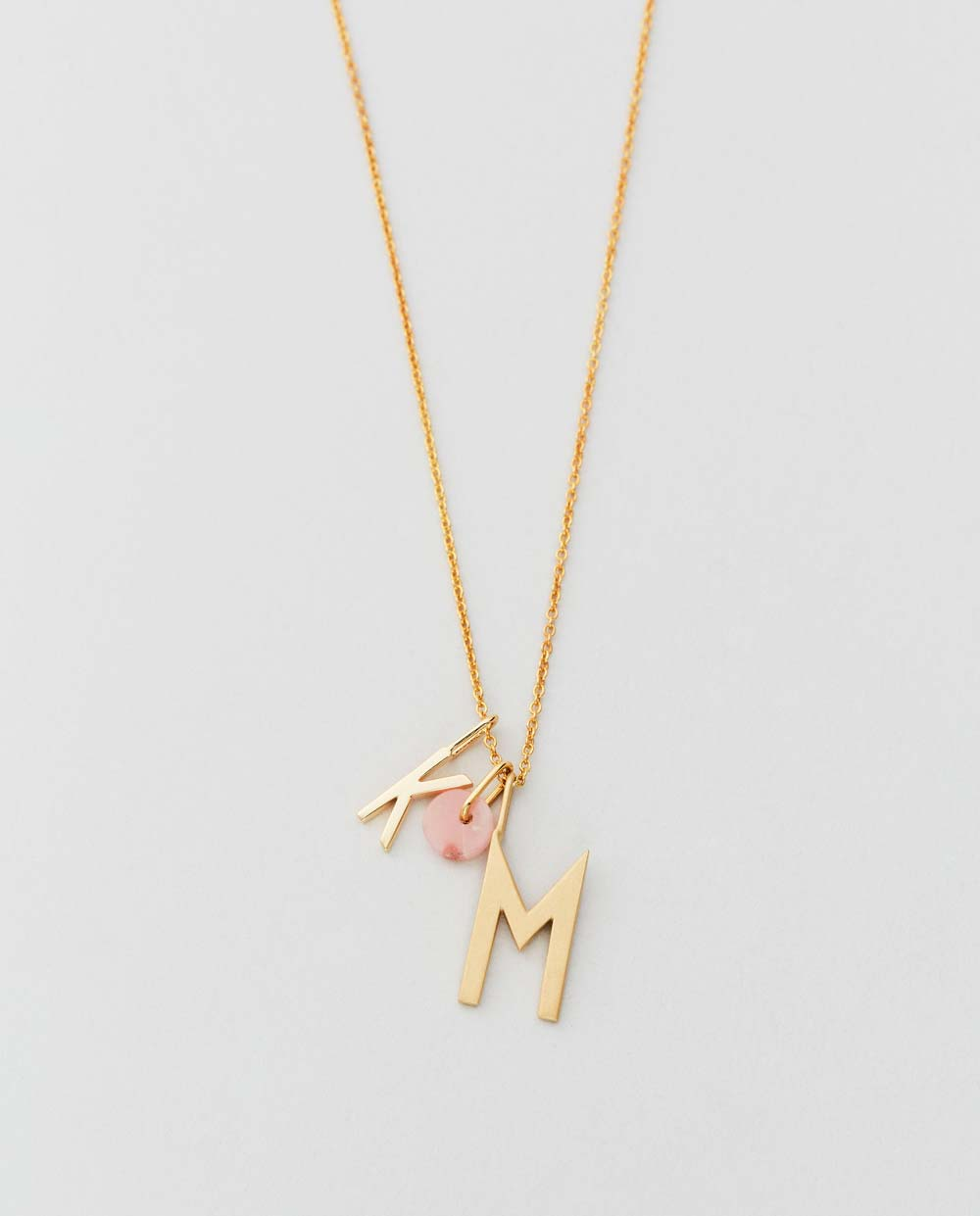 Design Letters Charm opal rose 90201500PINK 02