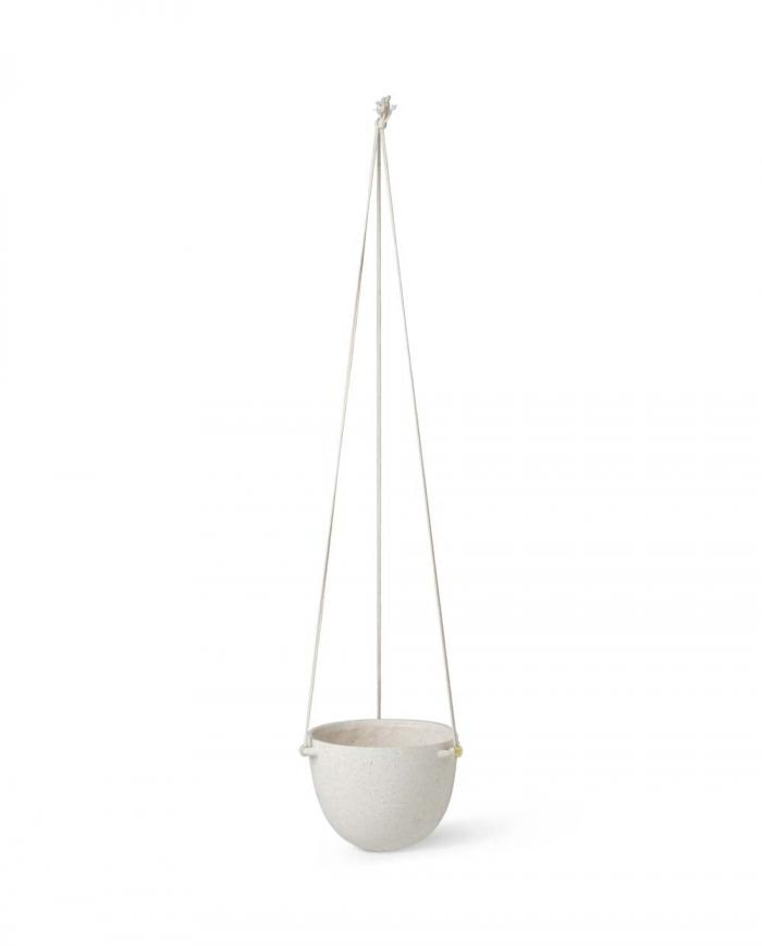 ferm living speckle hanging pot large 1104263154
