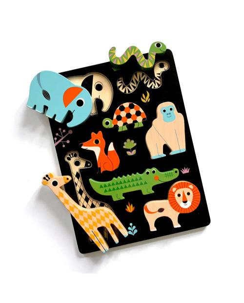 OMM Design Holzpuzzle Tiere 01