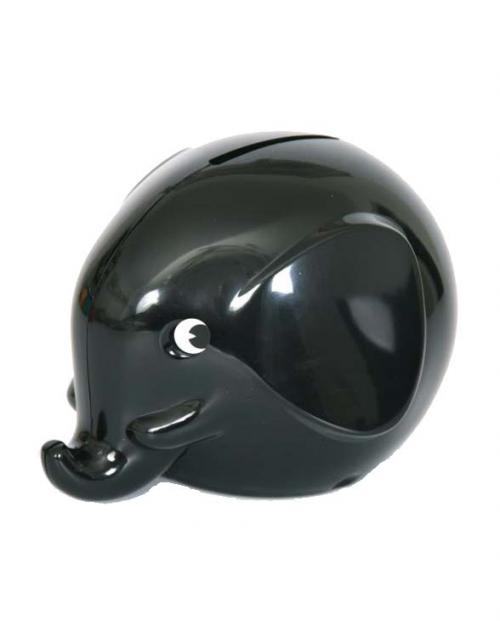 Omm Design Norsu Elefant Spardose gross schwarz