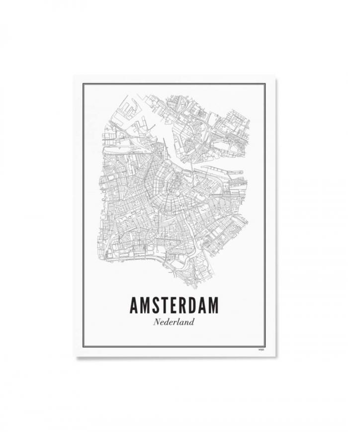 Wijck artprint Amsterdam