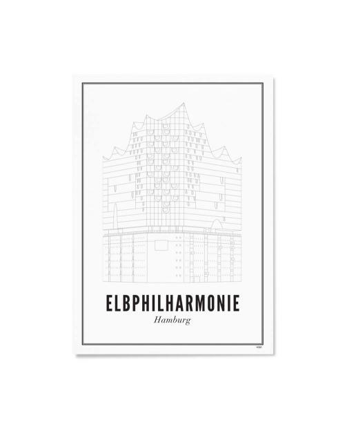 Wijck artprint Hamburg elbphilharmonie