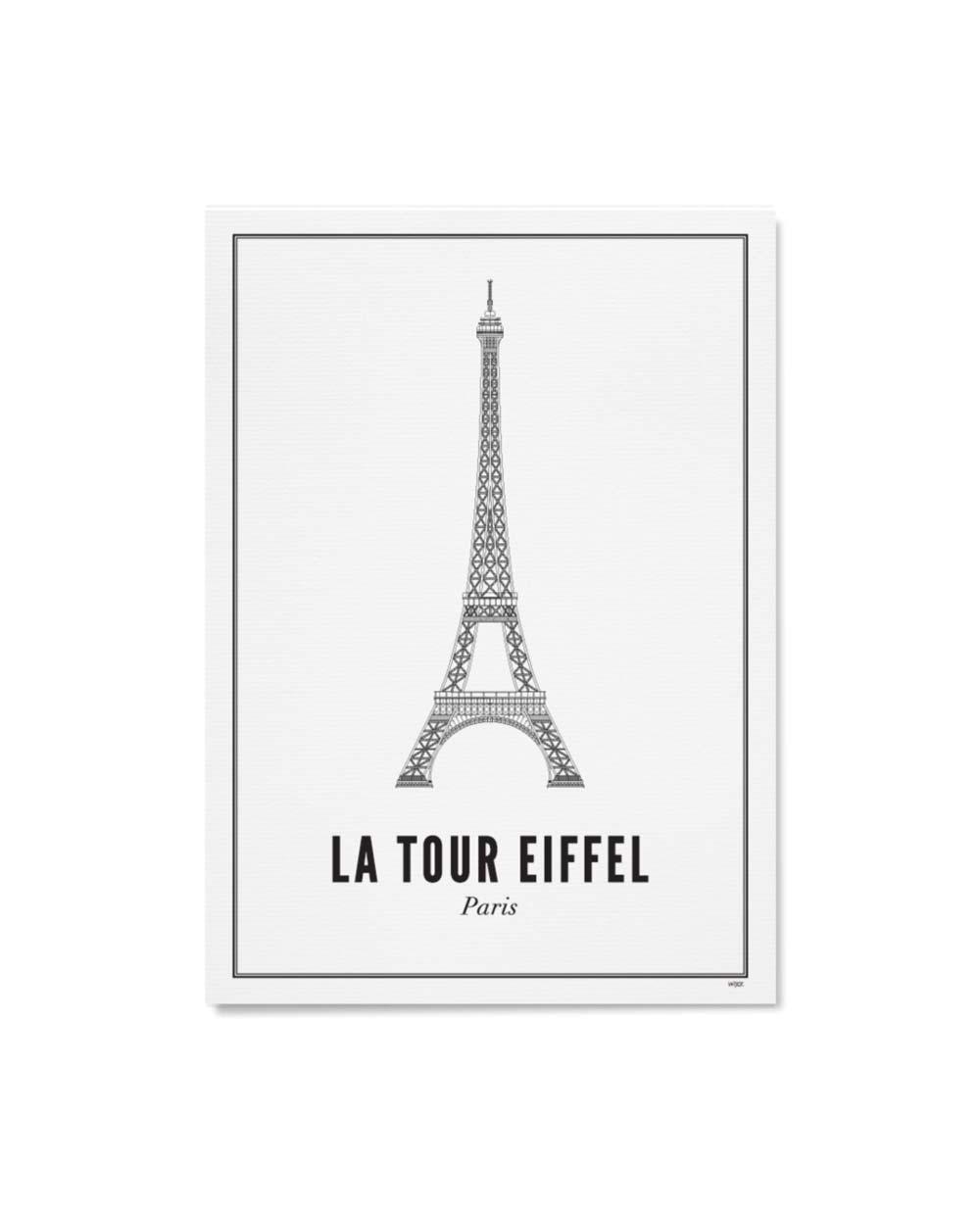 Wijck artprint Paris eiffelturm