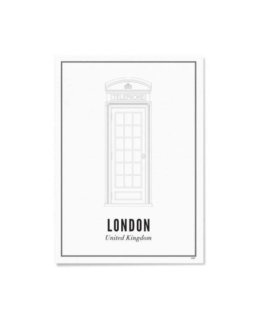 Wijck artprint london telefonzelle