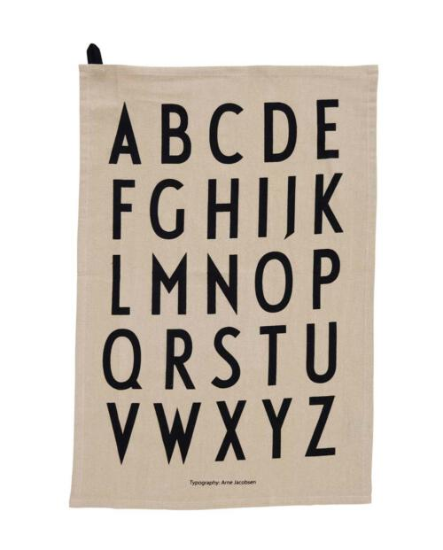 Design Letters Tea Towel beige 10503000BEIGE 01