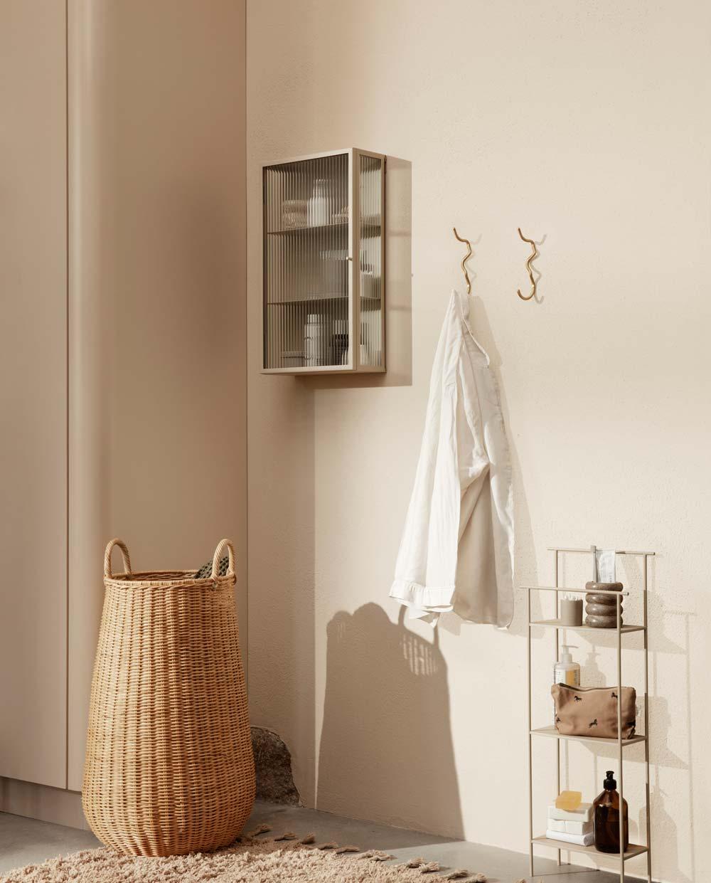 ferm Living Dora badezimmer regal schwarz 1104263260 03