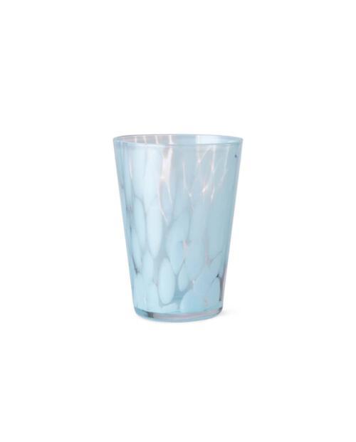 ferm Living Trinkglas Casca pale blue 1104263295