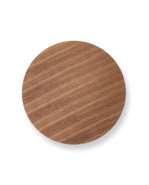 ferm Living Wirbasket Top Medium smoked oak 3124