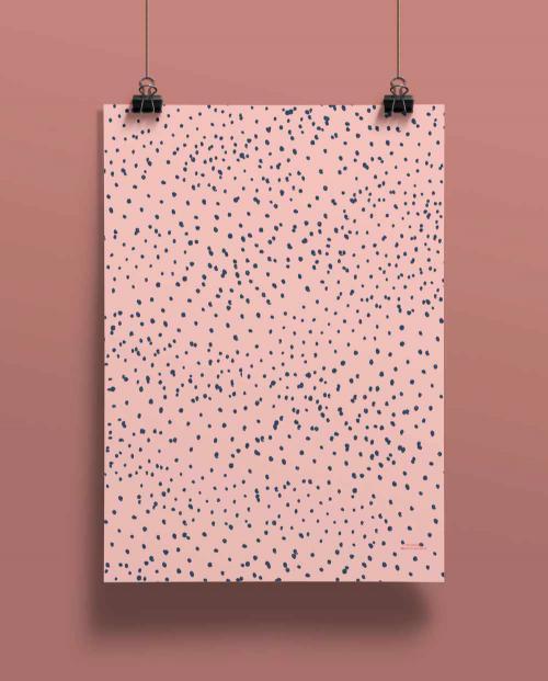 LID Geschenkpapier Dots