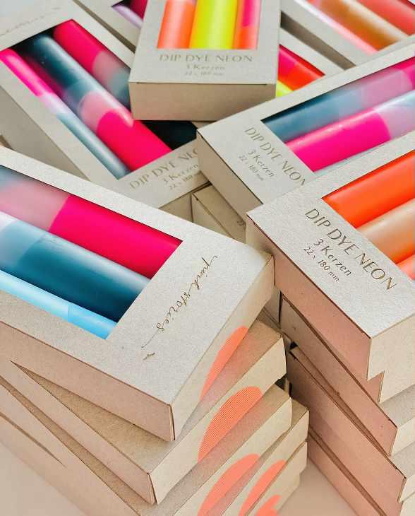 Pink Stories Kerzen