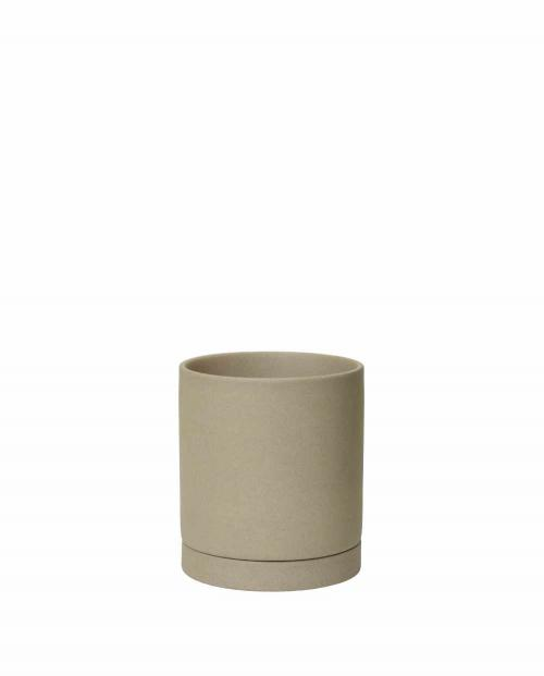 ferm Living Sekki Pot Medium Sand 01