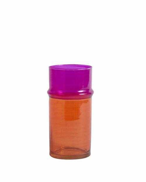 HAY 507197 Moroccan Vase S orange pink 01