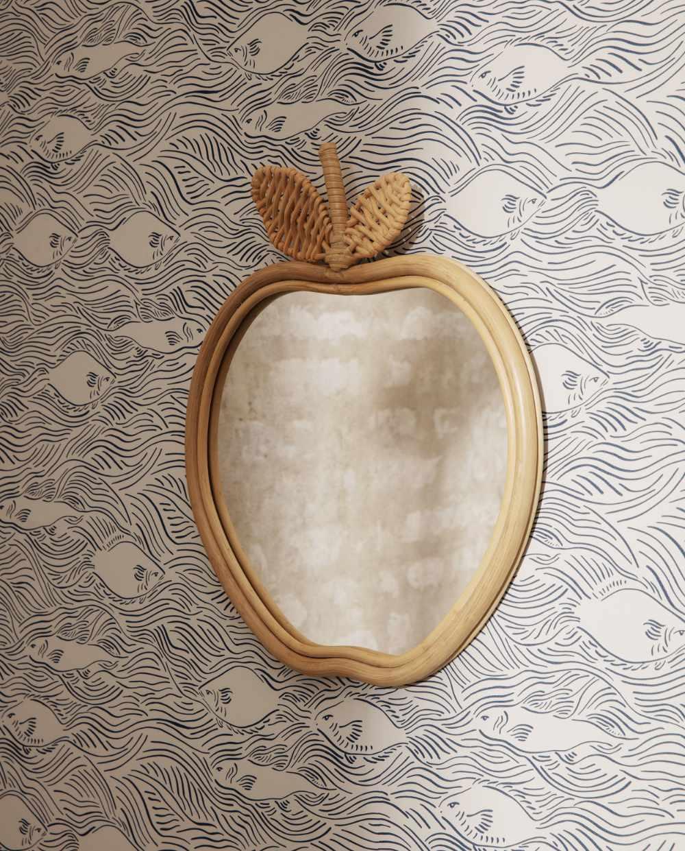 ferm Living apple mirror 03