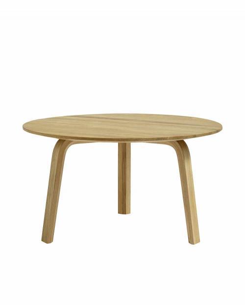 HAY 2568631009000 Bella Coffee Table dia60xH32 oiled oak 01