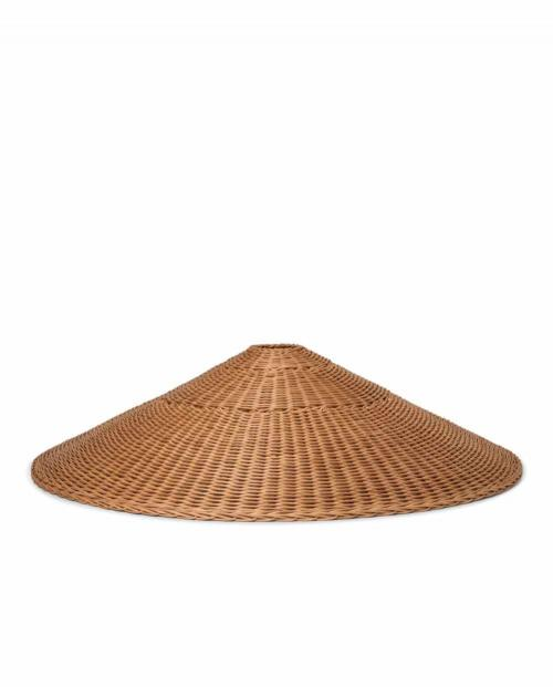 fermLIVING Dou Lampshade 90 natural 01
