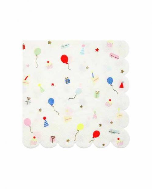 Meri meri papierservietten party icons 01