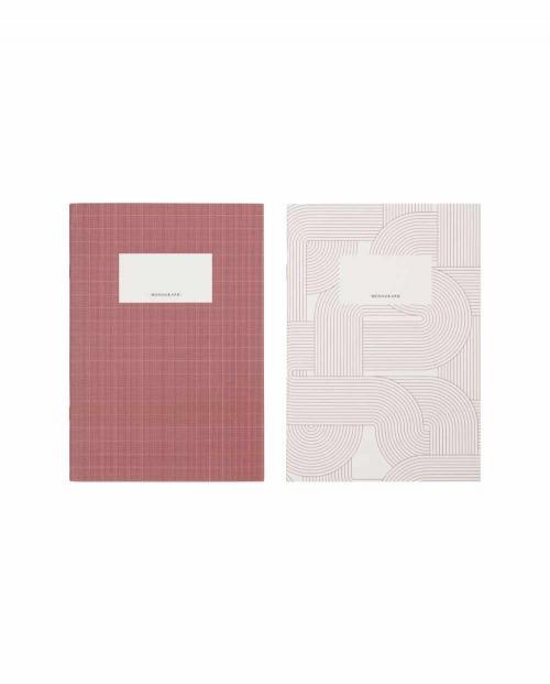 Monograph Notizheft rot A5 408283001 01
