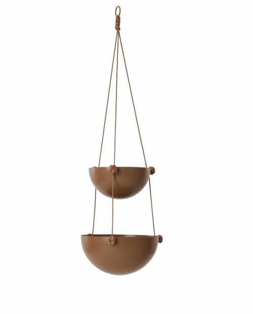 OYOY L10251 pif paf puf hanging storage 2 bowls nougat 01