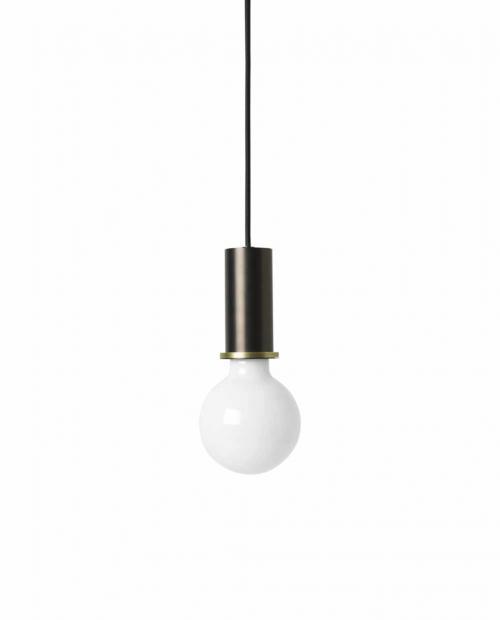 ferm Living collect lighting 5108 Socket Pendant Low Black 03