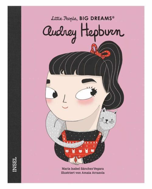 Little people audrey hepburn 9783458179139 cover