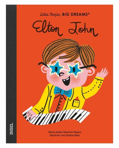 Little people elton john 9783458179511 cover
