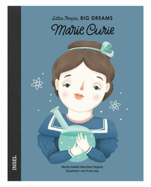Little people marie curie 9783458177944 cover