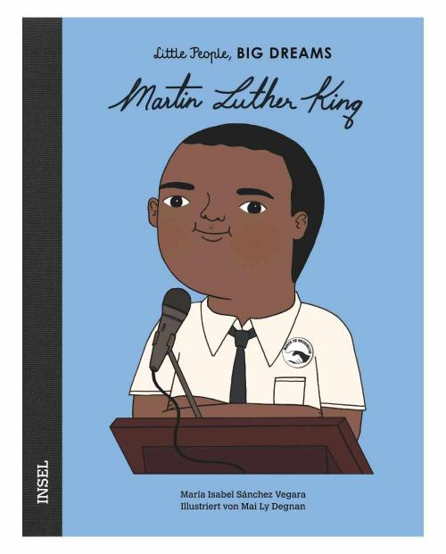 Little people martin luther king 9783458178866 cover