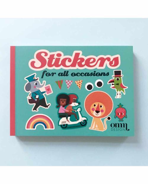 OMM Design Stickerbuch 002