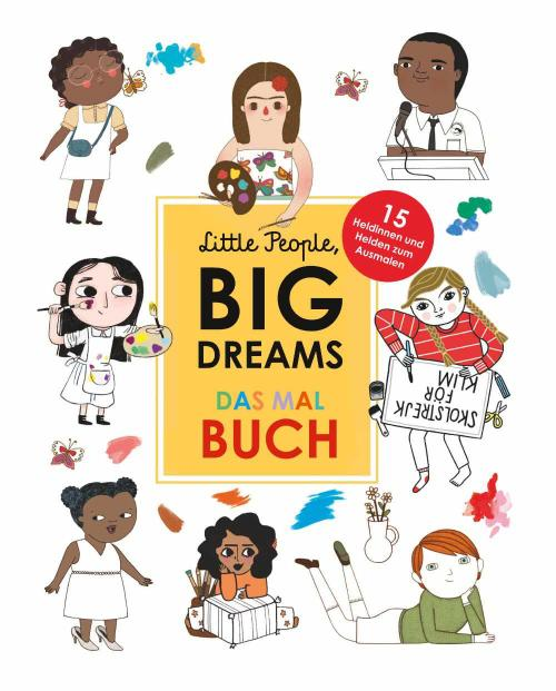 little people big dreams das malbuch 9783458179184 cover