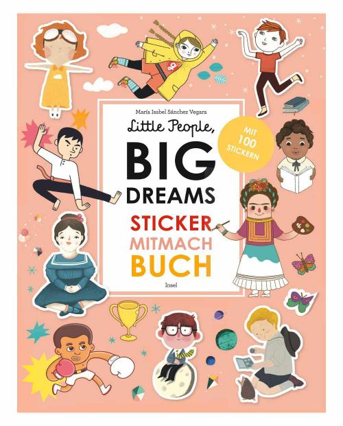 little people big dreams sticker mitmach buch 9783458179191 cover